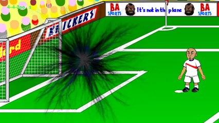 TIM KRUL PENALTY SAVES - Holland vs Costa Rica Penalties by 442oons (5.7.14 World Cup Cartoon)