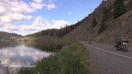 motorcycle riding in British Columbia Canada
