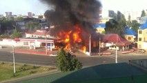Explosion d'une station-service (Russie)