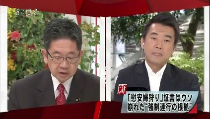 【動画】橋下市長vs金慶珠・小池晃☆吉田清冶の嘘証言映像をご覧くださ...