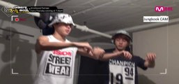 [ENG] [American Hustle Life] Unreleased Cut - Ep.3 Suprised Jimin because of Dance Teacher Jin | ABS