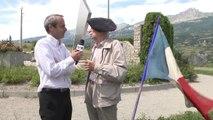 Hautes-Alpes: Henri Béraut, ancien combattant, au micro de Jean-Marc Passeron