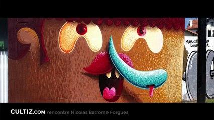 Interview de l'illustrateur Nicolas Barrome Forgues.
