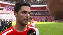 Community Shield - Arsenal 3-0 Man City - Mikel Arteta Post Match Interview