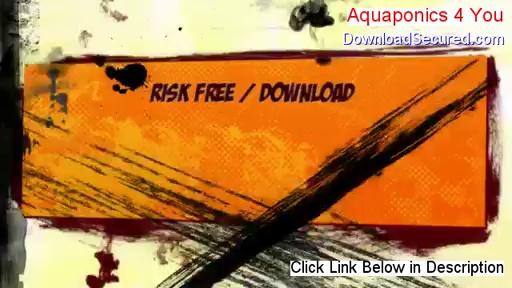 Aquaponics 4 You PDF [ 2014]