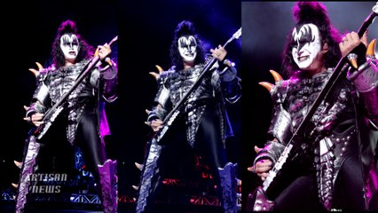 KISS 40TH ANNIVERSARY CONCERT REVIEW AND PHOTO, LIGHTING TRUCK ACCIDENT