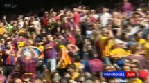 Aficionado del Real Madrid es expulsado del Camp Nou _ Barcelona 2-2 Getafe 2014