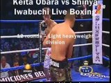 Streaming Keita Obara vs Shinya Iwabuchi Live`