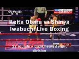 Watch Boxing Keita Obara vs Shinya Iwabuchi Full Match Live On Mobile