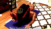 HOME ABS WORKOUT WITH WEIGHTS (Big Brandon Carter) HOW TO GET A 6 - SIX PACK FAST