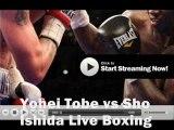 Boxing Keita Obara vs Shinya Iwabuchi Live broadcast