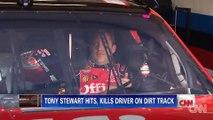 Il sort de sa voiture en pleine course et meurt percuté par un autre pilote