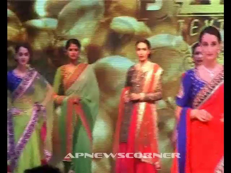 Pranitha at Fashion Thrills Fashion Show