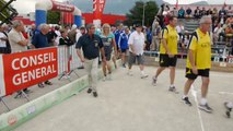 Championnats de France Quadrette et Triple, Sport Boules, Chambéry 2014