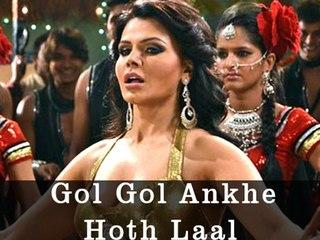 Rakhi Sawant Item Song  | Gol Gol Ankhe Hoth Laal | Agnichakra | Naseeruddin Shah,Govinda