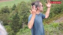 Monts d'Arrée. Une vue à 360 ° au bord du vide