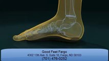 Good Feet Fargo Foot, Back, Knee, Hip Pain Relief with Good Feet Arch Supports