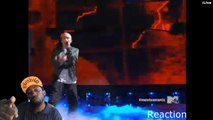DOPE ! Eminem and Rihanna perform Live on MTV Movie awards 2014 Eminem reaction