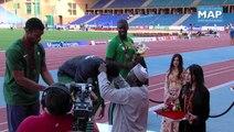 الإيفواري ويلفريد كوفي هوا ينال ذهبية مسابقة ال100 متر بالبطولة الإفريقية بمراكش