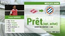 Mercato Show / La fiche transfert de Lucas Barrios à Montpellier