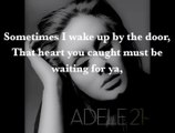 Adele - Set Fire to the Rain Lyrics