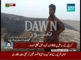 80 Fits Dead Whale appear on Karachi Beach