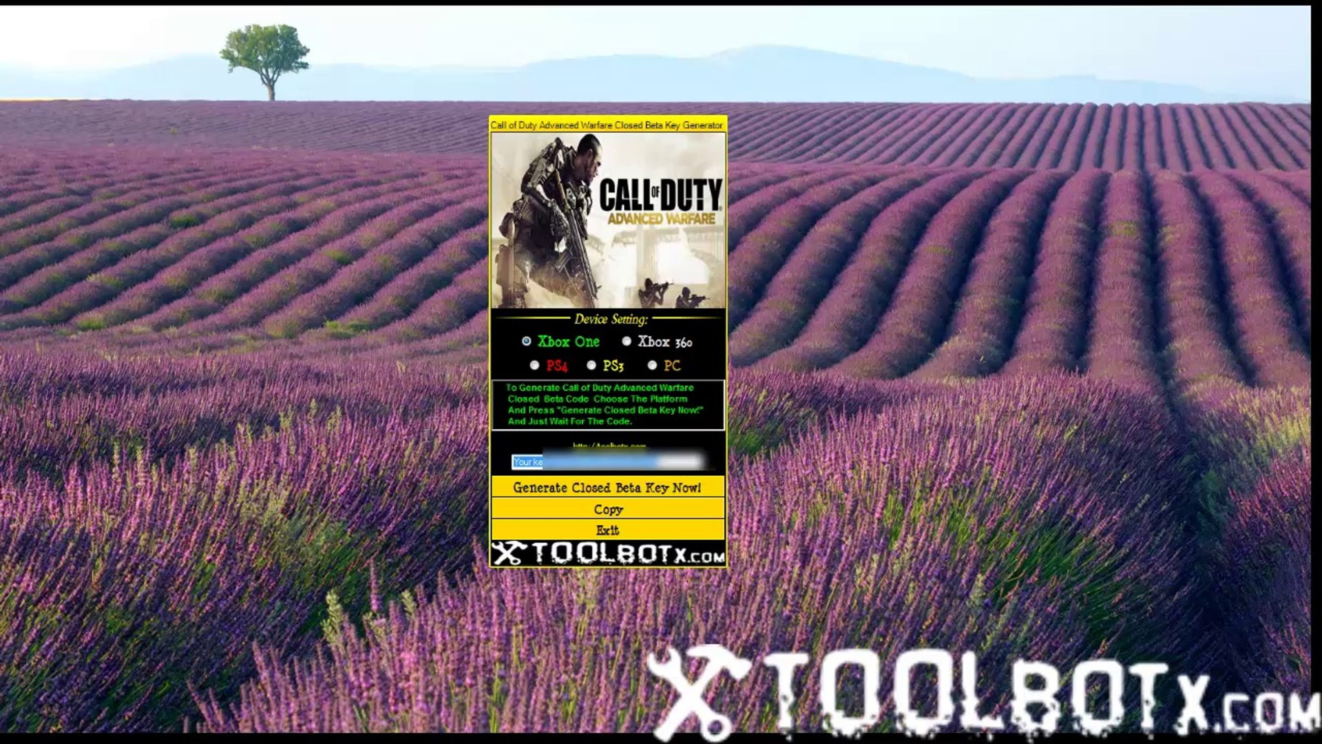 How To Use Call of Duty Advanced Warfare Beta Generator Codes [All Platfrom]