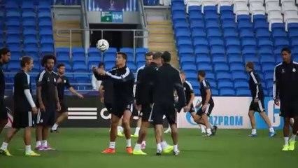 Bale e CR7: colpi di genio in allenamento
