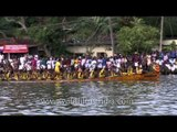 Snake boat race at Pamba river in Kerala - Champakulam Boat Race