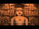 Statue of Lord Mahavir inside Jain Temple - Jaisalmer Fort