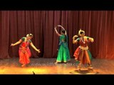 Odissi, Kathak and Bharatanatyam - Indian Classical dance forms
