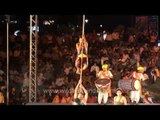 Pole Mallakhamb act by trained professionals
