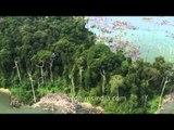 Bird's eye view of Andaman & Nicobar Islands