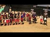 Kuki tribal dance - at Hornbill Fest