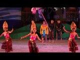 Thai cultural dance performed at Sangai Fest - 2013