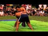 Naga wrestling championship at the 50th Naga Fest'13