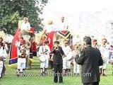 Elephant parade like catwalk models at Jaipur Elephant Festival