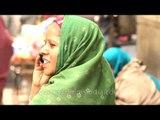 Homeless beggars begging for alms in Hazrat Nizamuddin Basti