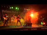 Death metal band Diatribe performing at Kohima Metal Fest 2012