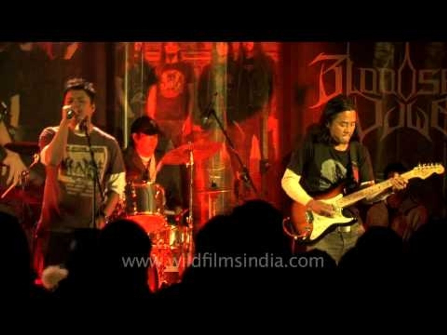 Recycle performing at the Maramfest 2012 in Senapati