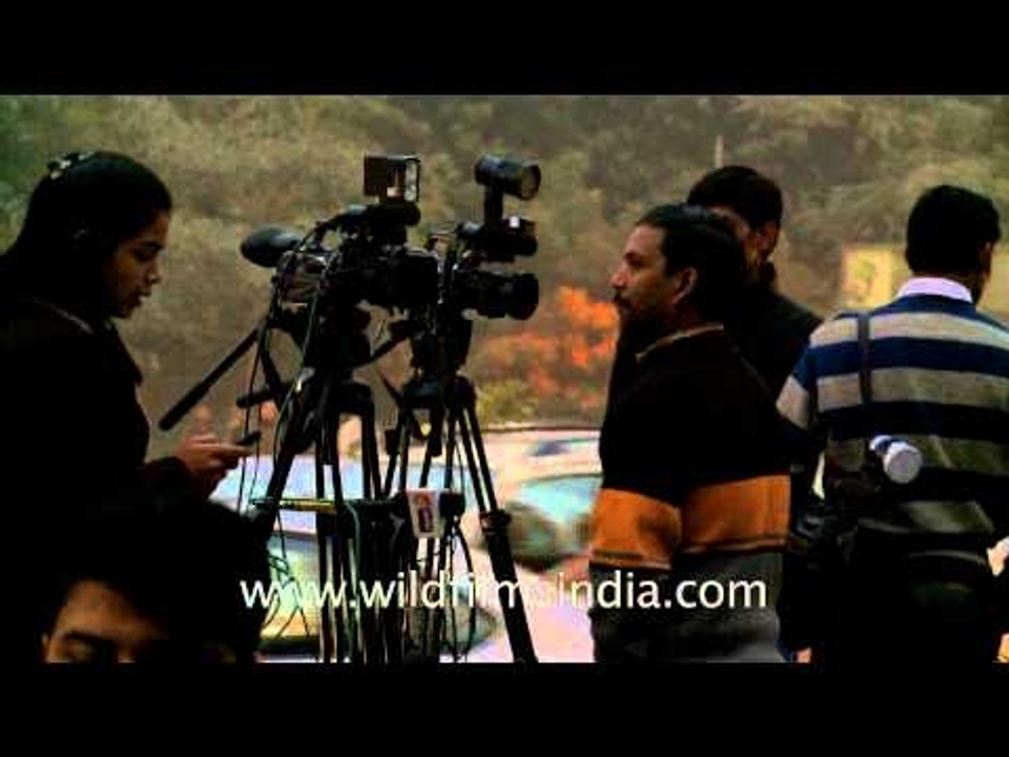 Delhi - The epicentre of Indian Television news broadcasting!