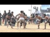 Indian rural freestyle wrestling at Kila Raipur