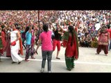 The freedom jam at Wagah border on India's 66th Independence day