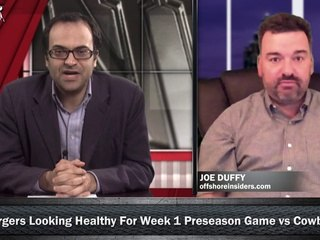 NFL Preseason Betting Week 1: Dallas Cowboys vs San Diego Chargers w/ Joe Duffy, Loshak