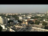 Aerial view of Connaught Place or Rajiv Chowk