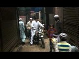 Blood on the street: blood trail leads to goat slaughter house
