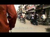 Rickshaw Ride -Chandni Chowk