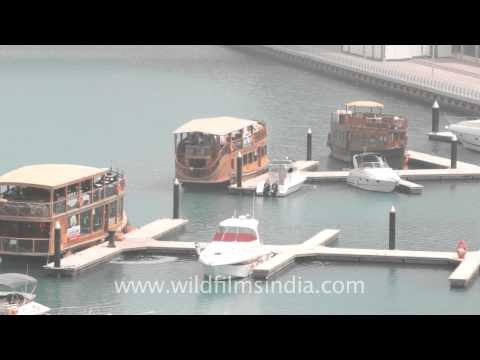 Dubai water boats!