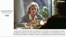 Mort de Lauren Bacall: les moments forts de sa carrière