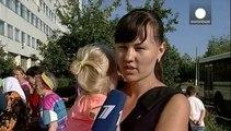 Chaque jour, des Ukrainiens de l'est fuient en Russie